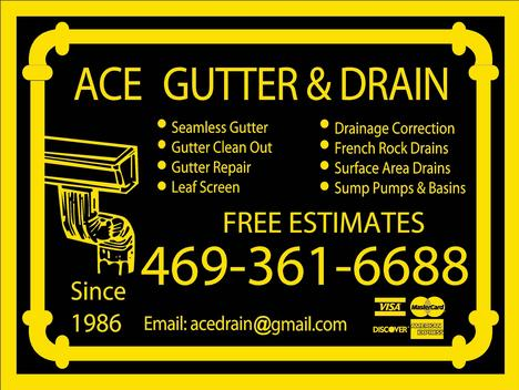 Ace Gutter & Drain LLC.is a quality contractor.