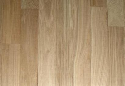 Solid White Oak Hardwood Flooring Natural Floor With Polyurethane Finish