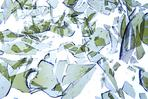 Photo of broken annealed glass