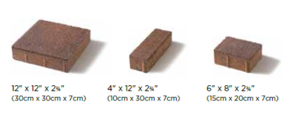 Il Campo Unilock Paver Sizes