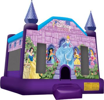 this a beautiful 16'4Lx15'4Wx12.8H princess collection castle jumping, Bouncing