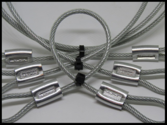 What our boat cover support cables for sale look like