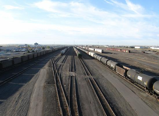 The BNSF Pasco Yard.