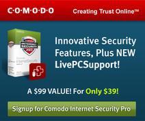 Click Here Free Comodo Internet Security Pro