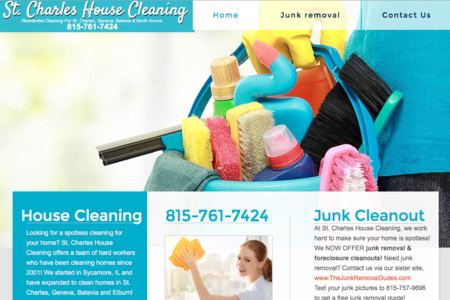 St. Charles House Cleaning - Campton Hills, IL 815-761-7424