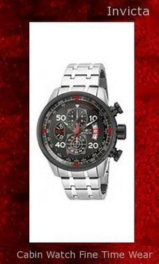 Product Specifications Watch Information Brand, Seller, or Collection Name Invicta Model number 17204 Part Number 17204 Model Year 2011 Item Shape Round Dial window material type Synthetic sapphire Display Type Analog Clasp Fold over clasp Case material Stainless steel Case diameter 48 millimeters Case Thickness 13 millimeters Band Material Stainless steel Band length Men's Standard Band width 24 millimeters Band Color Silver Dial color Grey Bezel material Stainless steel Bezel function Stationary Calendar Date Special features Chronograph Item weight 16 Ounces Movement Japanese quartz Water resistant depth 330 Feet