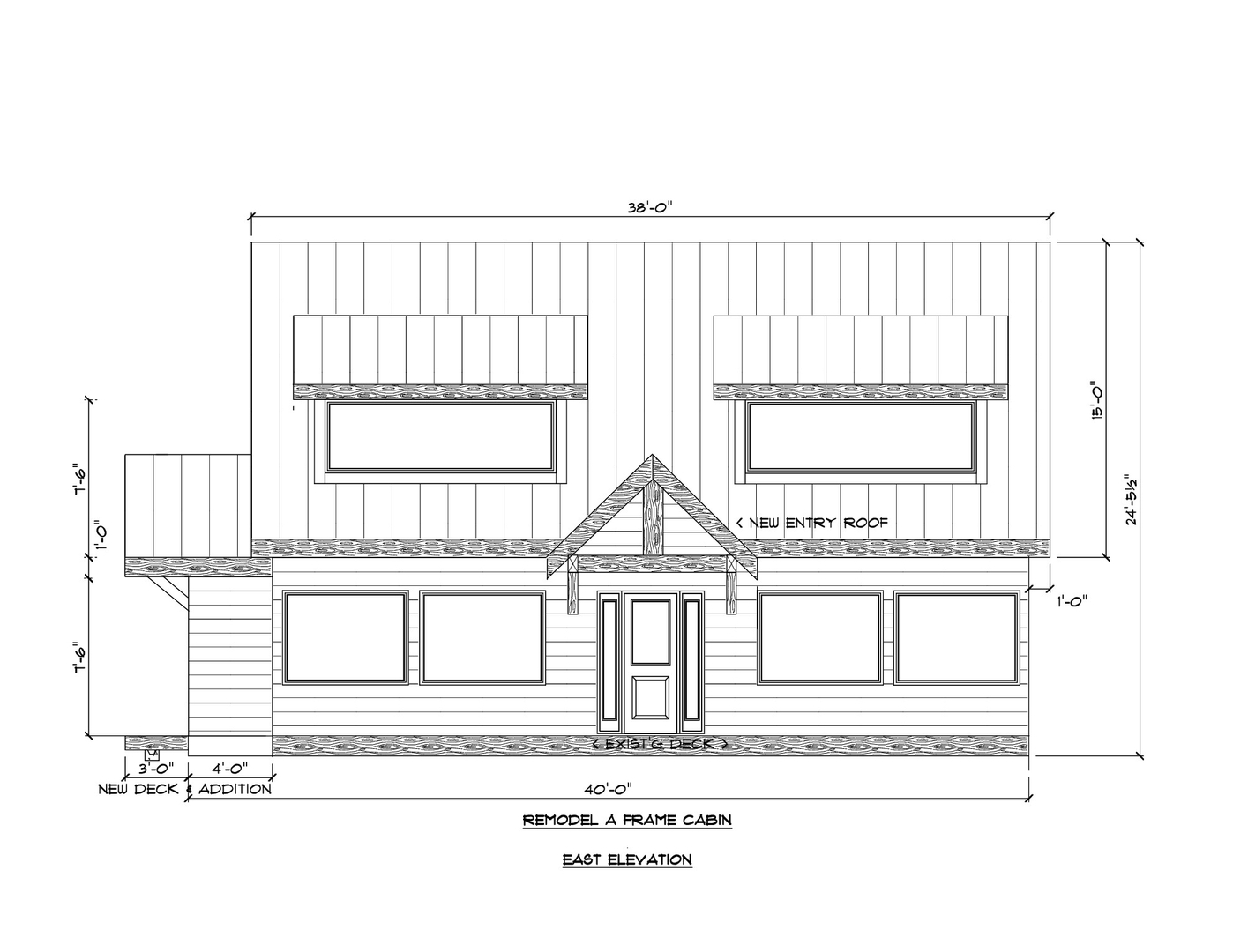 A Frame Cabin Remodel - Home design and Drafting on San Juan Island