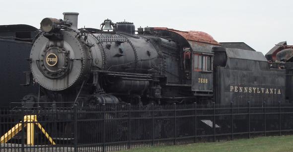2 8 0 Consolidation Type Locomotives: Pennsylvania Railroad H8, H9, H10 Class 2-8-0 Locomotives