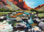 The Natural Accents Gallery of Taos Artist Peggy Trigg