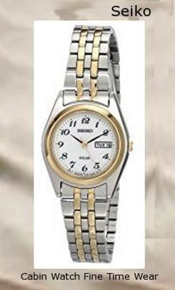 Seiko Women's SUT116 Stainless Steel Two-Tone Watchwatch repair near me
