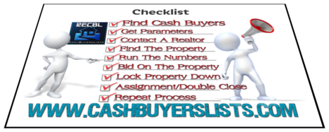 Cash Buyers Lists - The Money is in the Cash Buyers Lists