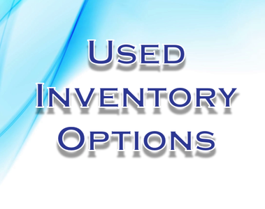 Used Inventory Options, used fair rides