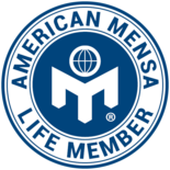 Acclaim by Credly American Mensa Life Member Badge