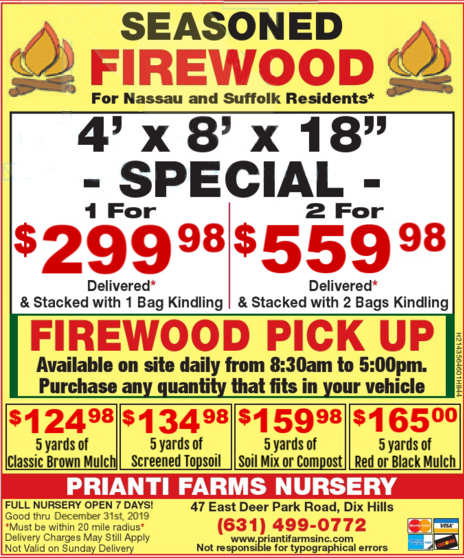 Mulch Bulk Prianti Firewood Seasoned Delivery Sale