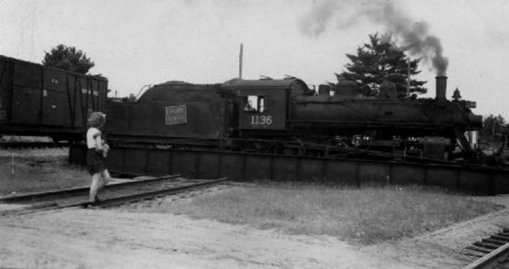CNoR engine 1136 was built in 1913 and scrapped in July 1954.