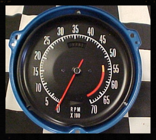 73 Corvette Tachometer repair