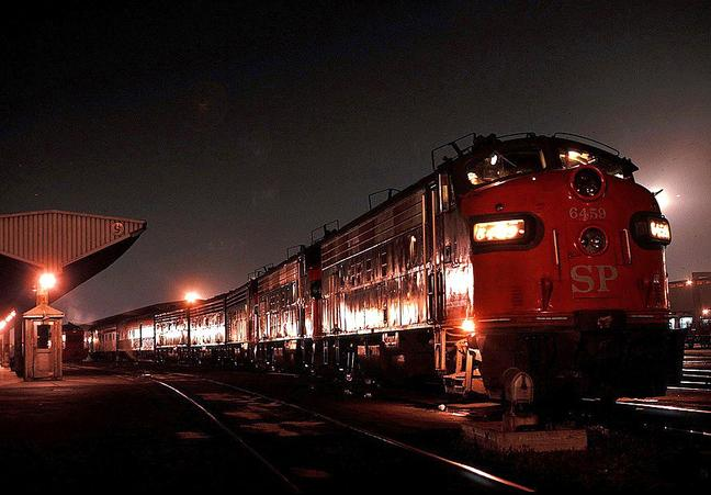 Sunset Limited in 1971. Photo by Drew Jacksich.