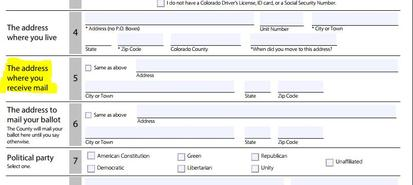 Voter Registration Form