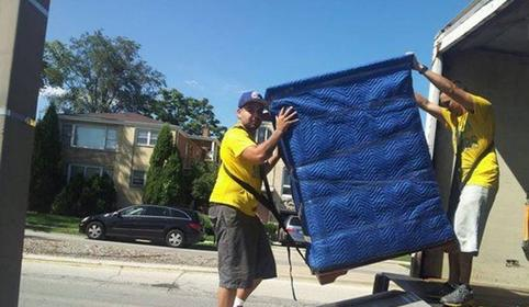 Yellow Moving Trucks Friendly Movers - Queens Movers