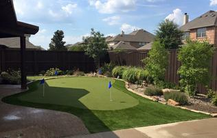 Synthetic Putting Greens Dallas Fort Worth Tx