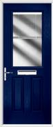 2 Panel 1 Square Composite Door venetian blind