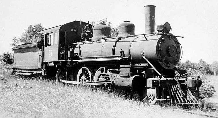 Arcadia and Betsey River Railway 2-6-0 No. 5.