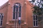 church window painter