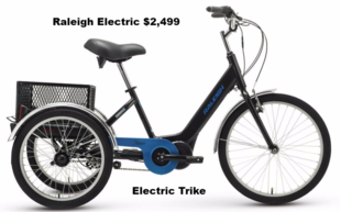 Raleigh Electric Trike