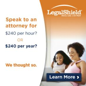 legal services, ID protection, legal insurance