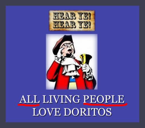 Doritos now the new pro-life chip? (Apologies to Frito-Lay.)