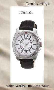 Watch Information Brand, Seller, or Collection Name Tommy Hilfiger Model number Watches Part Number 1781161 Model Year 2011 Item Shape Round Display Type Analog Case diameter 38 millimeters Case Thickness 10 millimeters Band Material Leather Band width 18 millimeters Band Color Black Dial color White Special features White Dial Movement Quartz