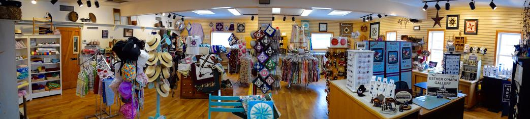 amish farm and house gift shop panoramic