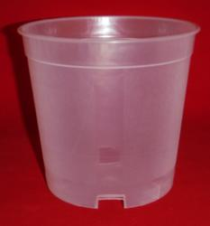 clear plastic orchid pot 5 inch tall slots holes ventilation large