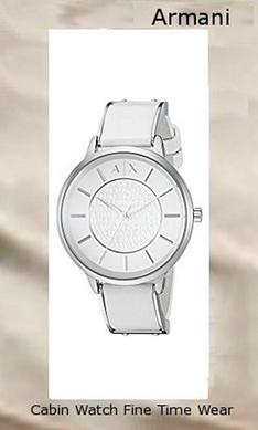 A/X Armani Exchange Womens Smart Leather Watch ​AX5300,armani