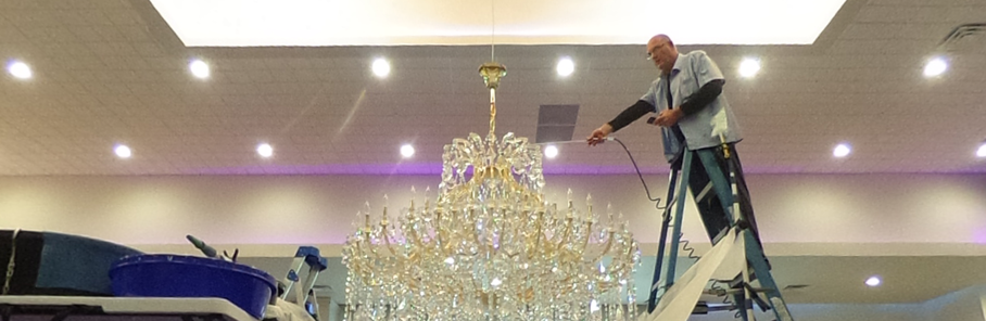 Gary webb chandelier cleaning in houston friendswood texas mozeypictures Gallery
