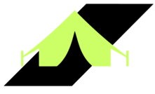 Mines and Meadows Camping Symbol