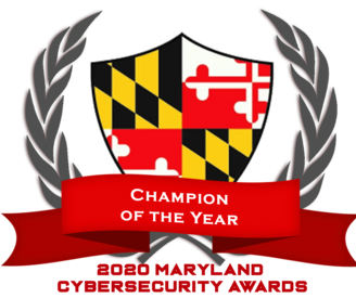 Champion of the Year - 2020 Maryland Cybersecurity Awards