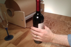 Wine bottle and jar training