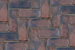 Unilock Concrete Town Hall Permeable Paver In Heritage Red Color