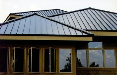 Houston metal seam installation; Houston roof contractors