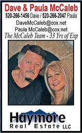 Dave & Paula McCaleb, Realtors, Haymore Real Estate LLC
