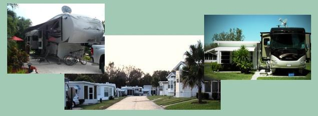 Travelers Rest RV Resort Homes for Sale