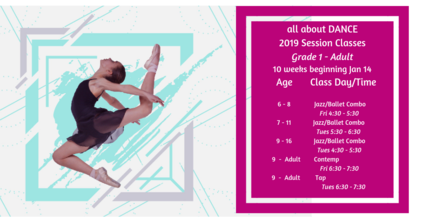 2019 Session Classes