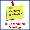Darien RTC Scheduled Meetings