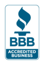 We are proud to be accredited by the Better Business Bureau!