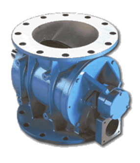 Blow-Through Rotary Valve