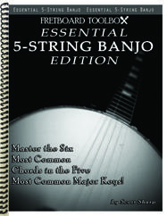 Essential 5-String Banjo Edition Fretboard Toolbox
