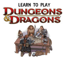 D&D Training Zander's Game House
