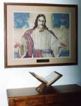 preservation framing of artwork in local church