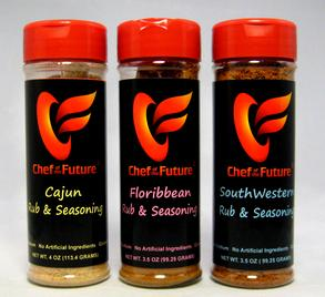 Great Quality-Fast Shipping-Chef of the Future-your source for Quality Seasoning Rubs